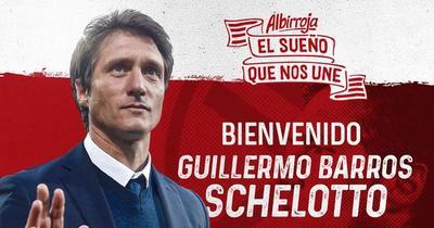 La Albirroja con nuevo DT: oficializan a Guillermo Barros Schelotto