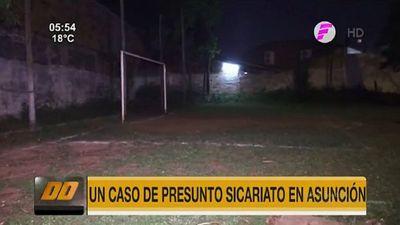 Sicarios matan a un hombre en cancha de fútbol de Asunción