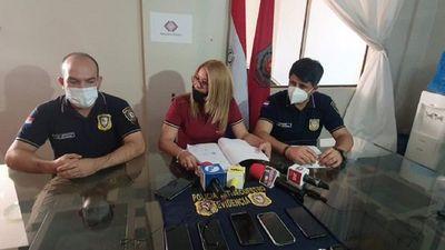 Cuatro detenidos por presunta extorsión en Ciudad del Este