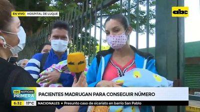 Indignante trato a pacientes en el Hospital Regional de Luque