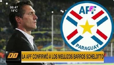 La APF confirma la contratación de Guillermo Barros Schelotto