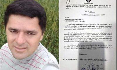 Ordenan detención de hermano de intendente reelecto de San Alberto por abusar de su propia hija de 3 años – Diario TNPRESS