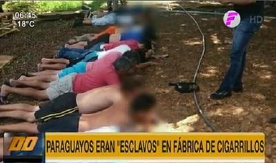 Hallan a 16 paraguayos en condición de esclavitud en Brasil