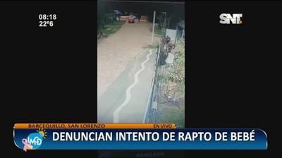 San Lorenzo: Denuncian intento de rapto a bebé