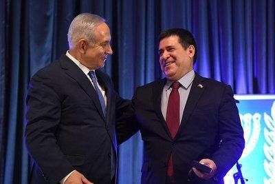El ex presidente Horacio Cartes felicitó a Benjamín Netanyahu, ex Primer Ministro de Israel, por su cumpleaños
