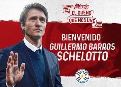 Oficializan a Barros Schelotto como entrenador de la Albirroja