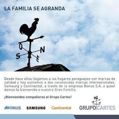 Se agranda familia del Grupo Cartes: Horacio Cartes da bienvenida a trabajadores de Bonus S.A.