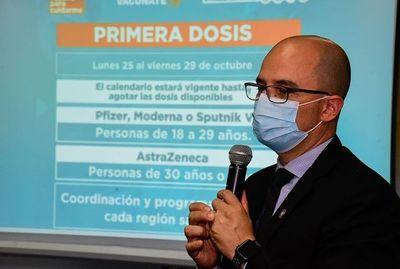 Aplicación de primera, segunda y tercera dosis antiCOVID seguirá la próxima semana