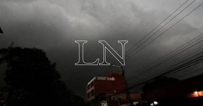 La Nación / Hay alerta de tormentas en Central y otros 12 departamentos