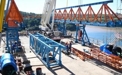 Puente de la Integración registra un avance del 70%