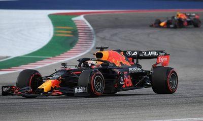 Verstappen supera a Hamilton y saldrá primero en GP de Estados Unidos