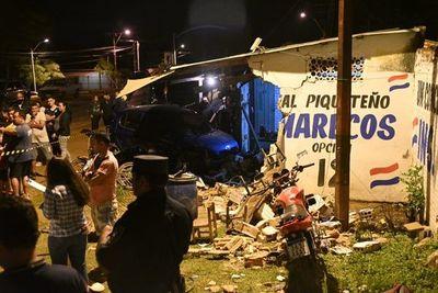 Niño muere tras choque de camioneta al mando de un alcoholizado en Limpio