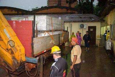 Entregarán 5.000 chapas a damnificados por temporal en Ciudad del Este